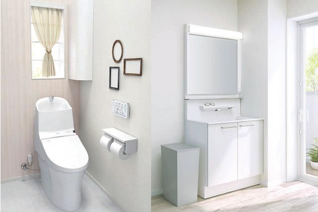 水廻りのリフォーム(キッチン・お風呂・洗面台・トイレ)イメージ
